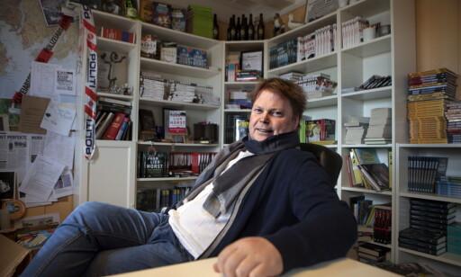 FORNØYD: Jørn Lier Horst, her hjemme i Stavern ved et tidligere intervju. Foto: Anders Grønneberg / Dagbladet