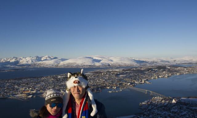 cefea2e7 Tenk om: Mens været er dårlig i Pyeongchang, er været i Tromsø strålende.