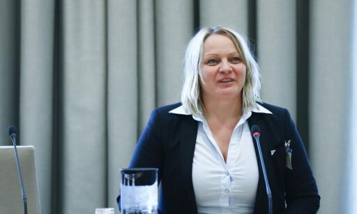 SV: Mona Fagerås, utdanningspolitisk talsperson. Foto: Terje Pedersen NTB / scanpix