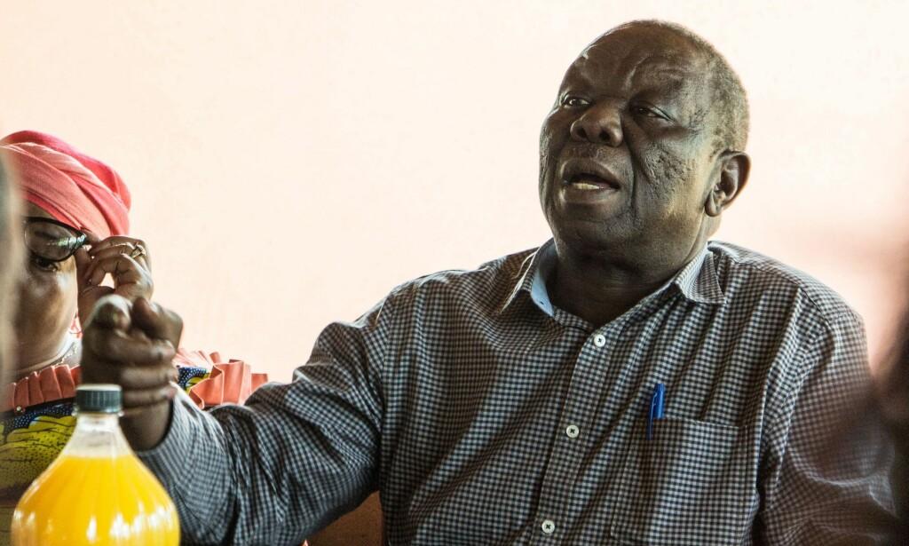 DØD: Morgan Tsvangirai er død. Her er han avbildet den 24.januar. Foto: Scanpix