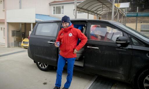 HYLLES AV HETLAND: Martin Johnsrud Sundby får skryt av sjefen får påvirkningskraften han har hatt på laget. Foto: Bjørn Langsem / Dagbladet