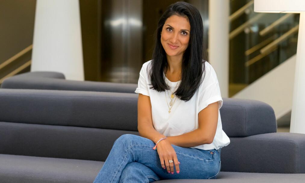 EGGDONASJON: Journalist Mina Ghabel Lunde deler sine meninger om eggdonasjon. FOTO: Per Ervland