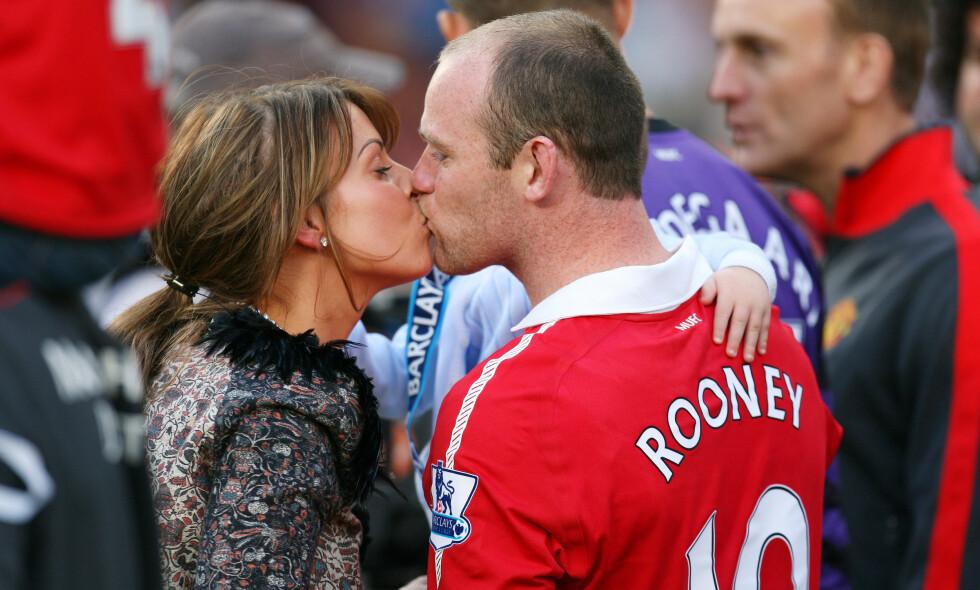 FIREBARNSFORELDRE: Coleen og Wayne Rooney kan juble over å ha fått et nytt tilskudd til familien. Foto: NTB Scanpix