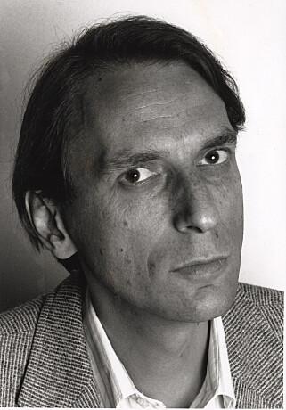 STOR DIKTER: Tor Ulven (1953-1995) var også en dyktig munnspiller.