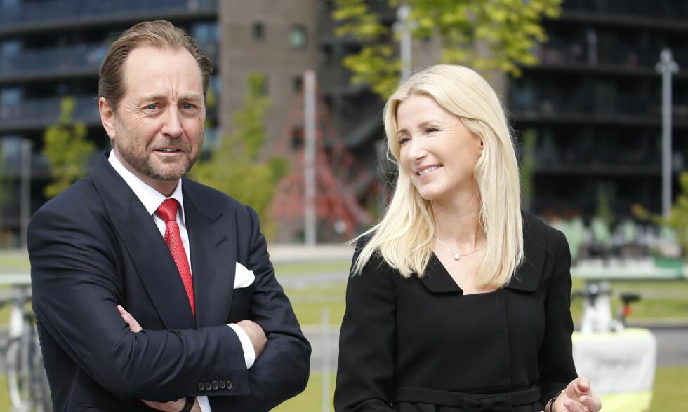 FLYTTER: Kjell Inge Røkke og kona flytter fra hverandre. Foto: NTB scanpix