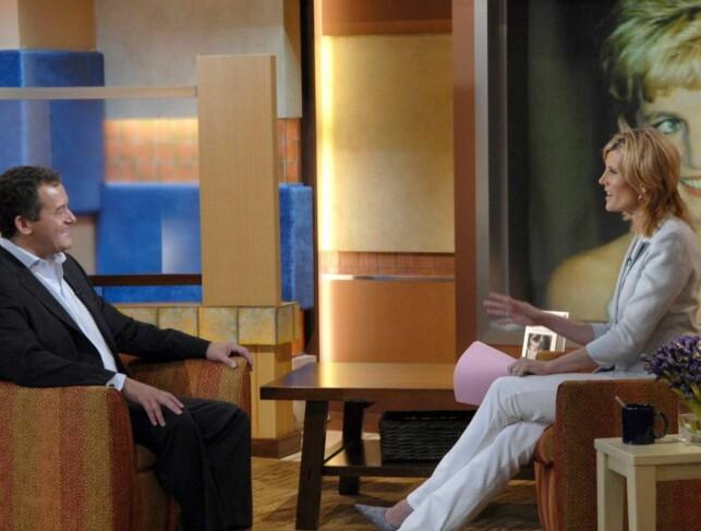 INTERVJUES: Paul Burrell intervjues i «Good Morning America» i forbindelse med utgivelsen av hans siste bok. Foto: All Over Press.