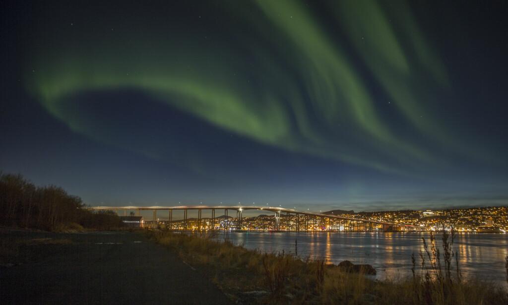 SAMMENSLÅING: Tromsø blir nå den største byen i det nye storfylket Troms og Finnmark. Foto: Jan-Morten Bjørnbakk / NTB scanpix