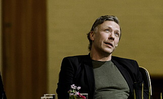 TØRRLAGT: Persbrandt forteller at han ikke har fått i seg en dråpe alkohol på tre år. Foto: John T. Pedersen / Dagbladet