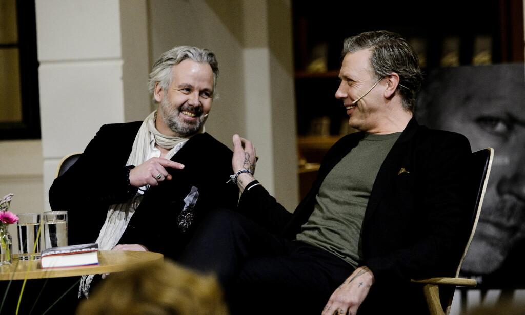 GAMLE KJENTE: De to har stilt ut sammen flere ganger, i en rekke «pop-up»-utstillinger i fjor. Foto: John T.Pedersen / Dagbladet