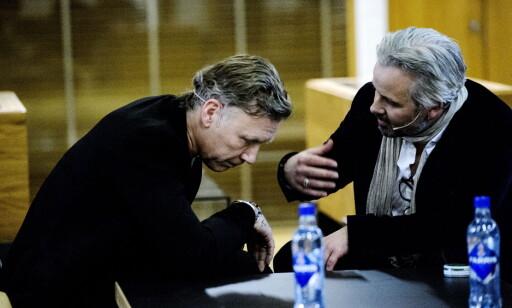 STJERNEMØTE: Behn og Persbrandt møttes torsdag kveld. Foto: John T. Pedersen / Dagbladet