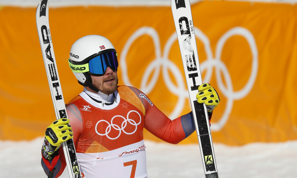 BRONSEMEDALJE: Kjetil Jansrud tok bronsemedalje i natt. FOTO: NTB scanpix