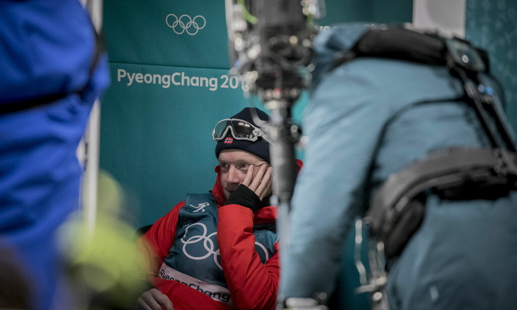 OFRER SEG FOR BROR: Johannes Thingnes Bø forteller til Dagbladet at han heller vil se bror Tarjei ta medalje på fellesstarten, enn at han selv står på pallen. Foto: Bjørn Langsem / Dagbladet