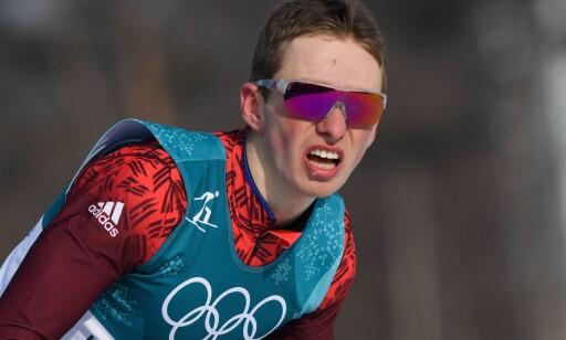 NY RUSSER: En glitrende avslutning av 21 år gamle Denis Spitsov sikret bronsemedaljen. Men bare full åpenhet om dopoppgjøret med russerne sikrer en god langrennsport. FOTO: AFP /Franck Fife
