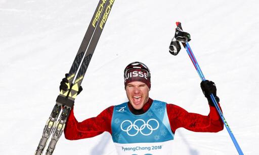 KLART BEST: Dario Cologna vant OLs 15km suverent. Men ville han blitt utfordret av Sergej Ustjugov? Og hadde det vært en ærlig utfordring? FOTO: Terje Pedersen / NTB scanpix
