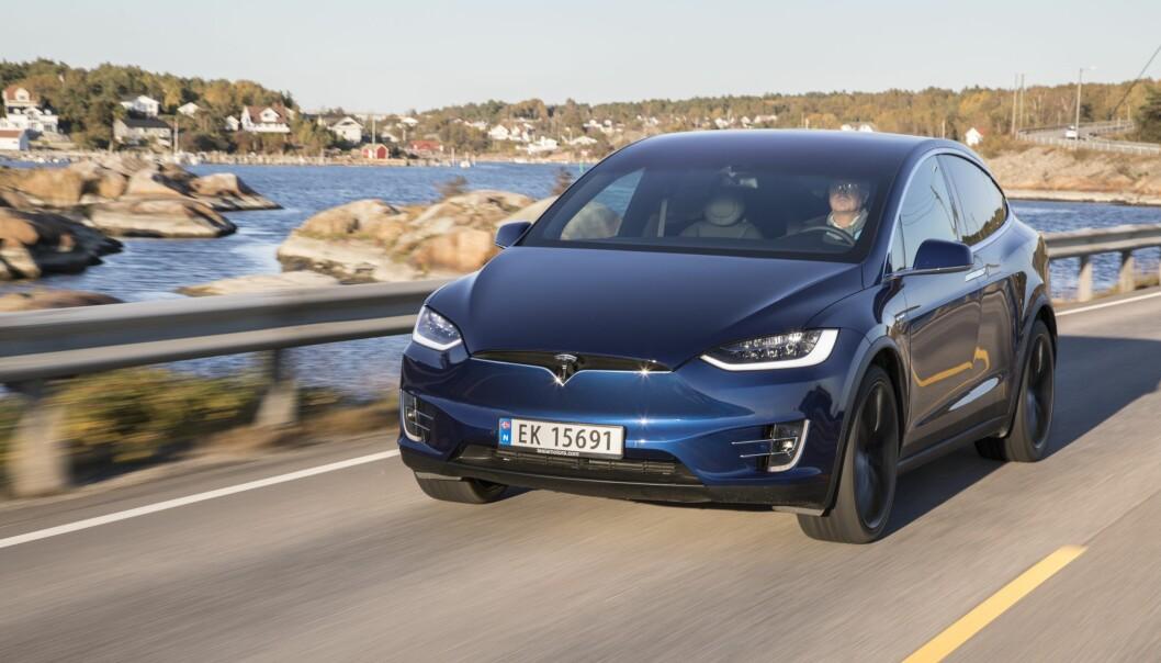 <strong>GARANTI-TAPER:</strong> Tesla har populære elbiler her i Norge, men de gjør det dårligst av samtlige merker i Forbrukerrådets Elbil-garantiguide 2018. <br>Foto: Morten Eik