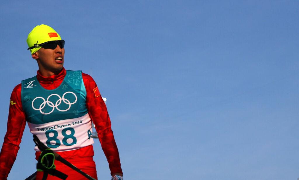 image: Kineseren ledet OL hele fem minutter foran Cologna og Sundby. Så ble han avslørt