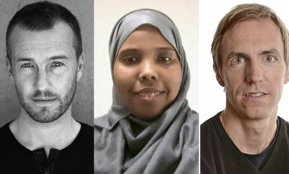 Bjarte Breiteig, Sahra Hassan og Helge Renå ber om at salget av leilighetene stoppes.