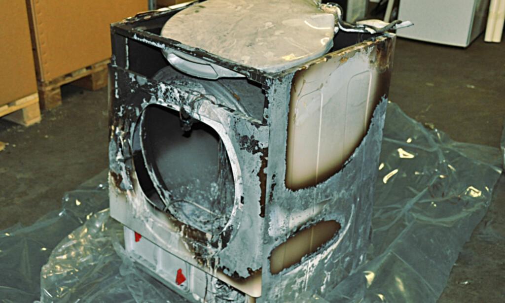 Brann i elektriske apparater - Ett merke skiller seg negativt ut - DinSide