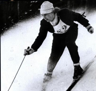 Historisk: Laila Schou Nilsen fikk tok bronsje under OL i 1936. Foto: Scanpix