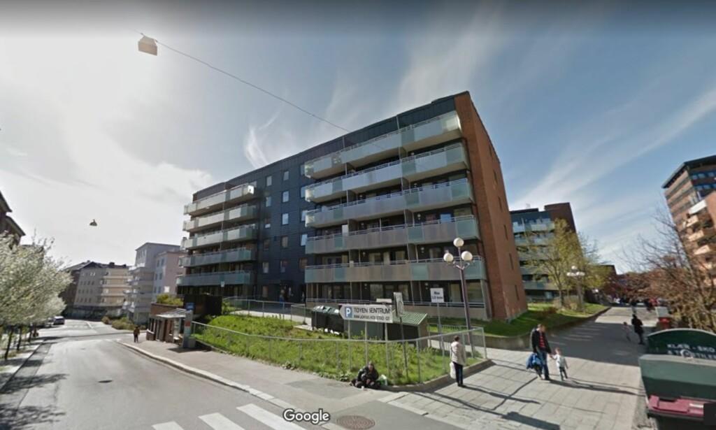 Hagegata 31 ligger kort unna Tøyen Torg. Foto: Google maps