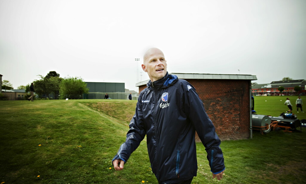 DANSK FØRST: Ståle Solbakkens selvbiografi kom først ut i Danmark, men er nå ute på norsk. Her på trening med FC København i 2011. Foto: Kristian Ridder-Nielsen