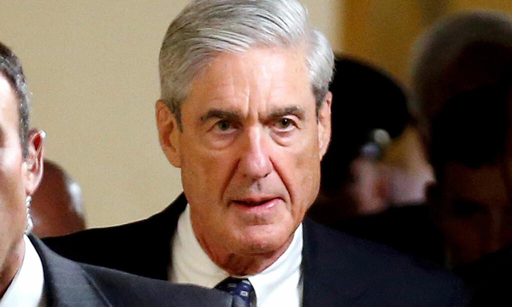 SPESIALETTERFORSKER: Spesialetterforsker Robert Mueller leder Russland-etterforskningen. Nå undersøker han twittermeldingene til Donald Trump. Foto: REUTERS/Joshua Roberts/File Photo