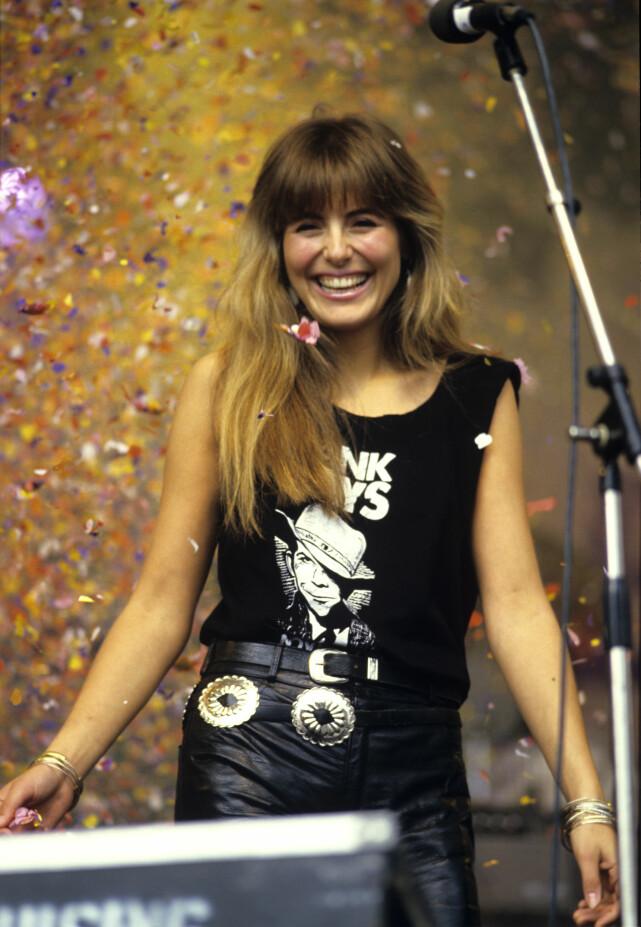 MERITTERT: Claudia Scott, her fotografert i 1985, har holdt på med musikk siden hun var et lite barn. Foto: NTB scanpix