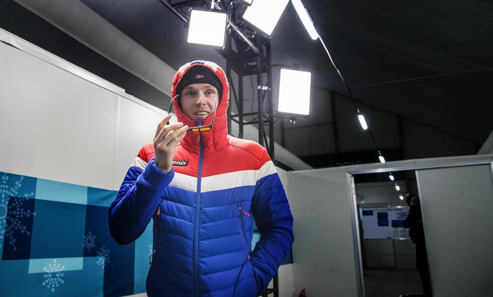 KLAR: Henrik Kristoffersen har snart vært en uke i OL-landsbyen. Nå ser han fram til å konkurrere. Foto: Hans Arne Vedlog / Dagbladet