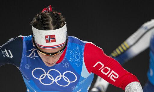 image: - Hon är stressad, ropte de svenske lederne til Nilsson. - Ikke faen om jeg er, tenkte Marit