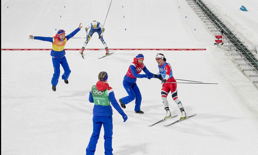 image: Østberg ble irritert over Haga: - Jeg tok tak i henne og ropte