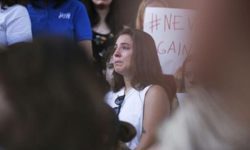 image: Overlevende i Florida ber Trump skamme seg