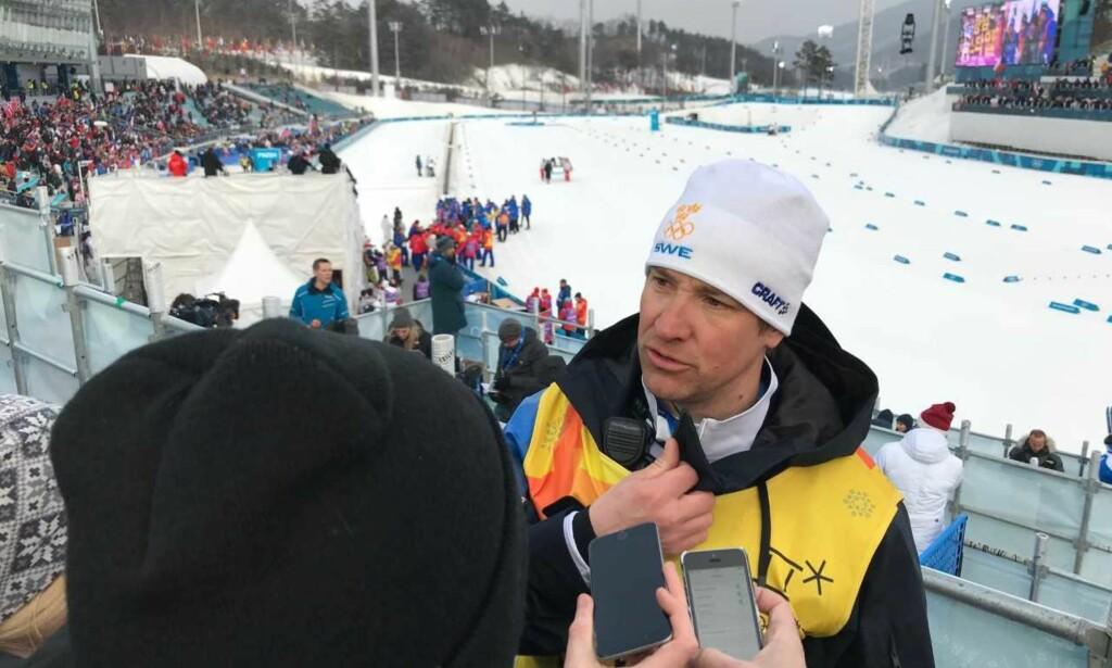 SKUFFET: Urban Nilsson tok umiddelbart ansvaret for fiaskoen. Foto: TORE ULRIK BRATLAND
