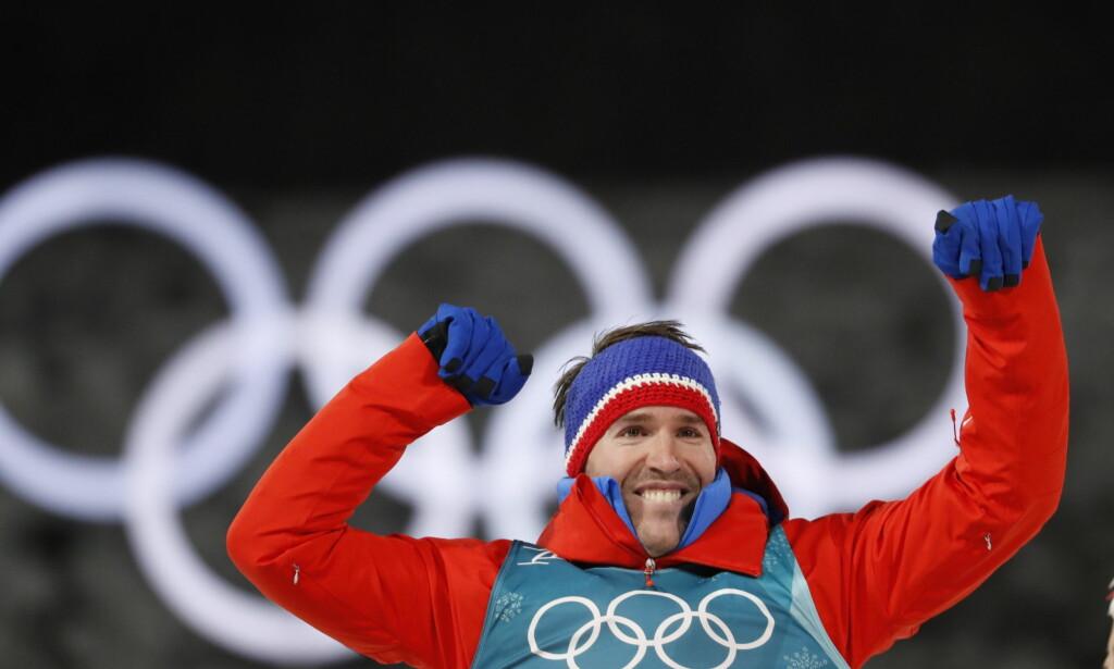 BRONSE: Emil Hegle Svendsen tok bronse på fellesstarten. Foto: Bjørn Langsem / Dagbladet