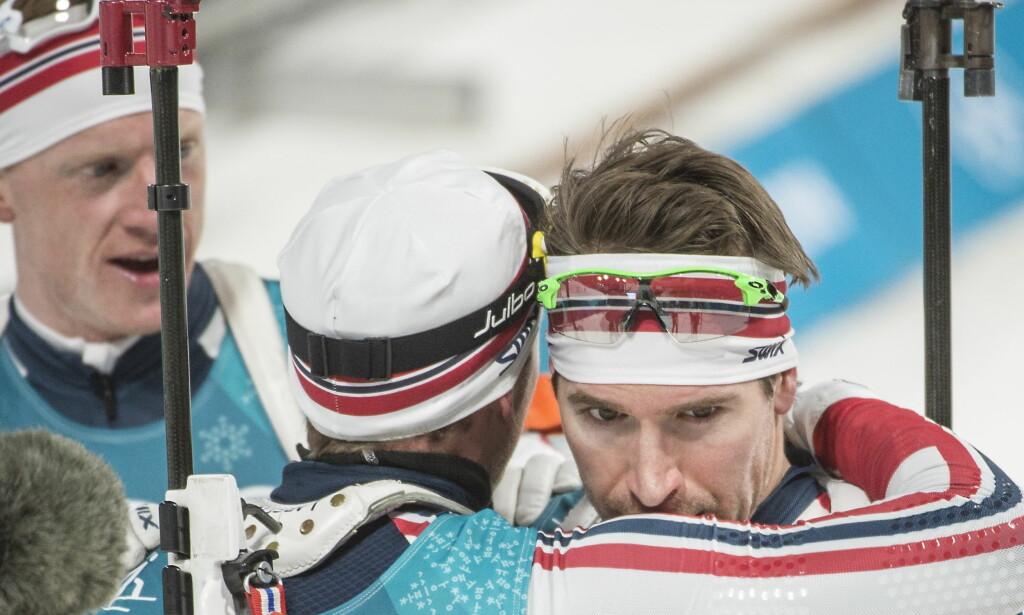 BRONSE: Emil Hegle Svendsen tok OL-bronse på fellesstarten i Sør-Korea. Foto: Hans Arne Vedlog / Dagbladet