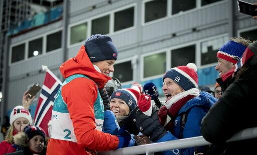 image: Klæbos morfar vekker oppsikt i USA: - Hva er det dere gjør i Norge?