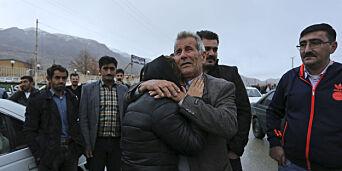 image: Iransk TV: Flyvraket er funnet