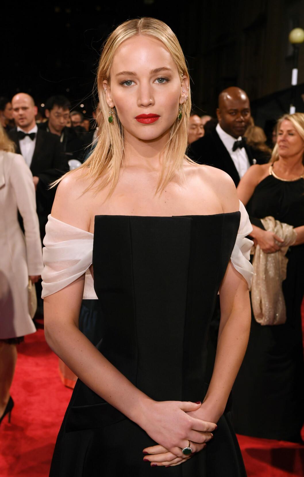 <strong>BAFTA:</strong> Jennifer Lawrence. Foto: NTB Scanpix
