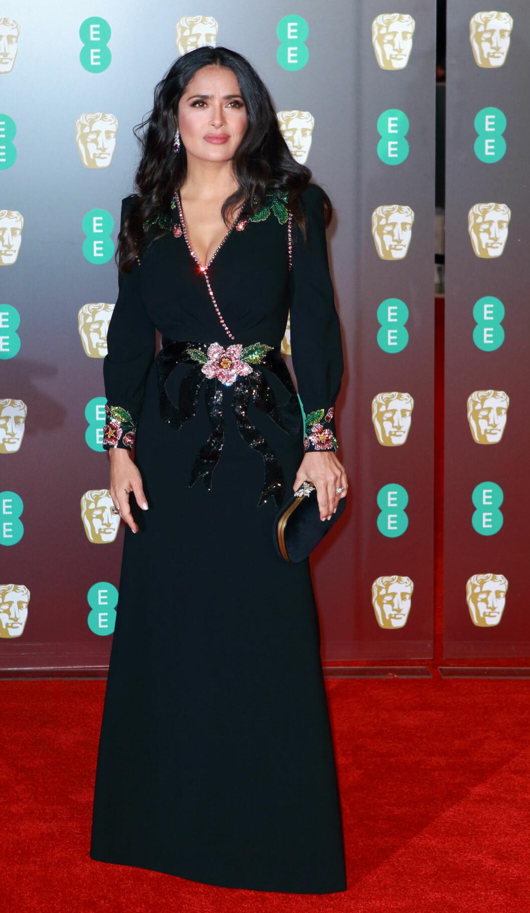 <strong>BAFTA:</strong> Salma Hayek. Foto: NTB Scanpix