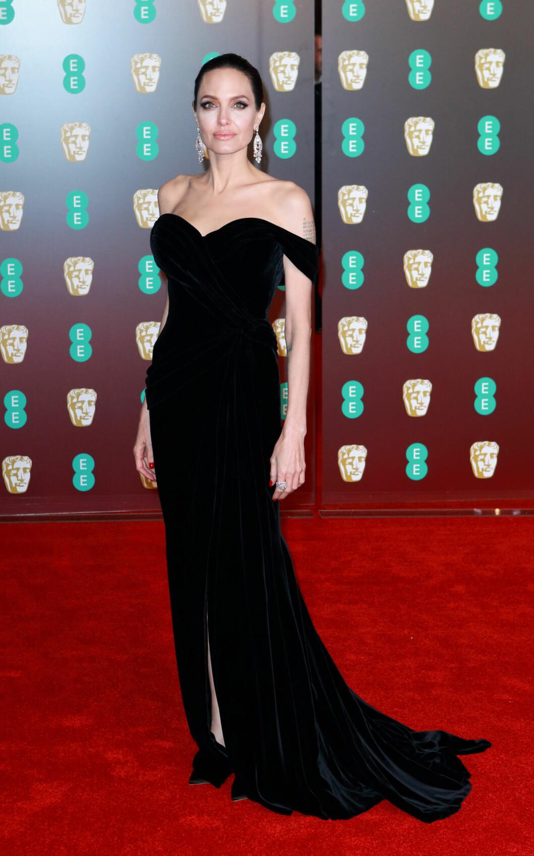 <strong>BAFTA:</strong> Angelina Jolie. Foto: NTB Scanpix