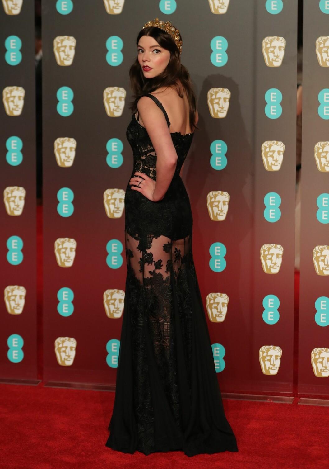 <strong>BAFTA:</strong> Anya Taylor-Joy. Foto: NTB Scanpix