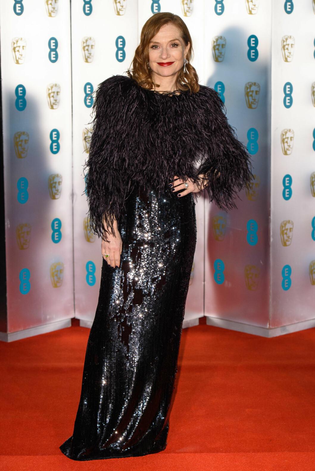 <strong>BAFTA:</strong> Isabelle Huppert. Foto: NTB Scanpix