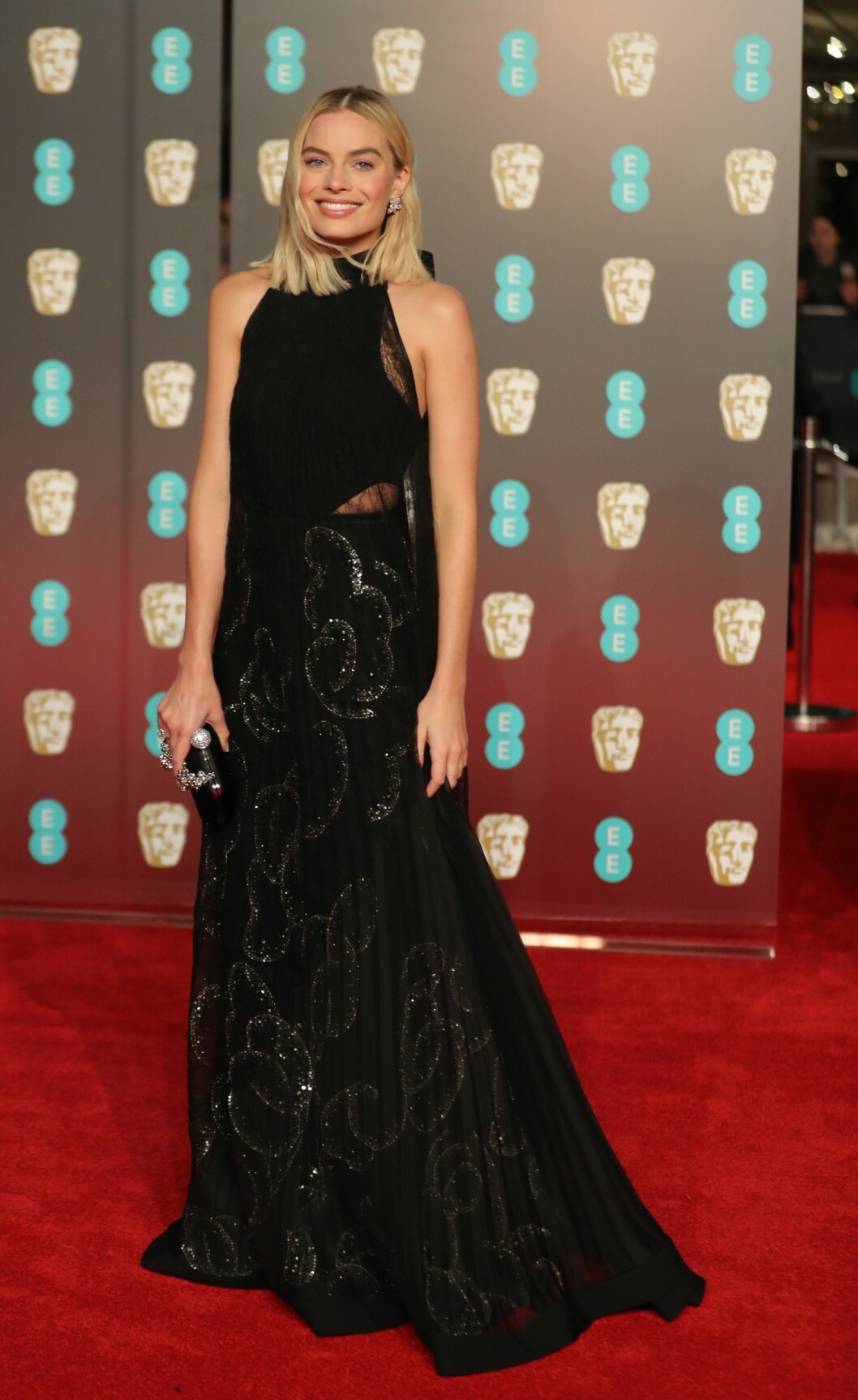 <strong>BAFTA:</strong> Margot Robbie. Foto: NTB Scanpix