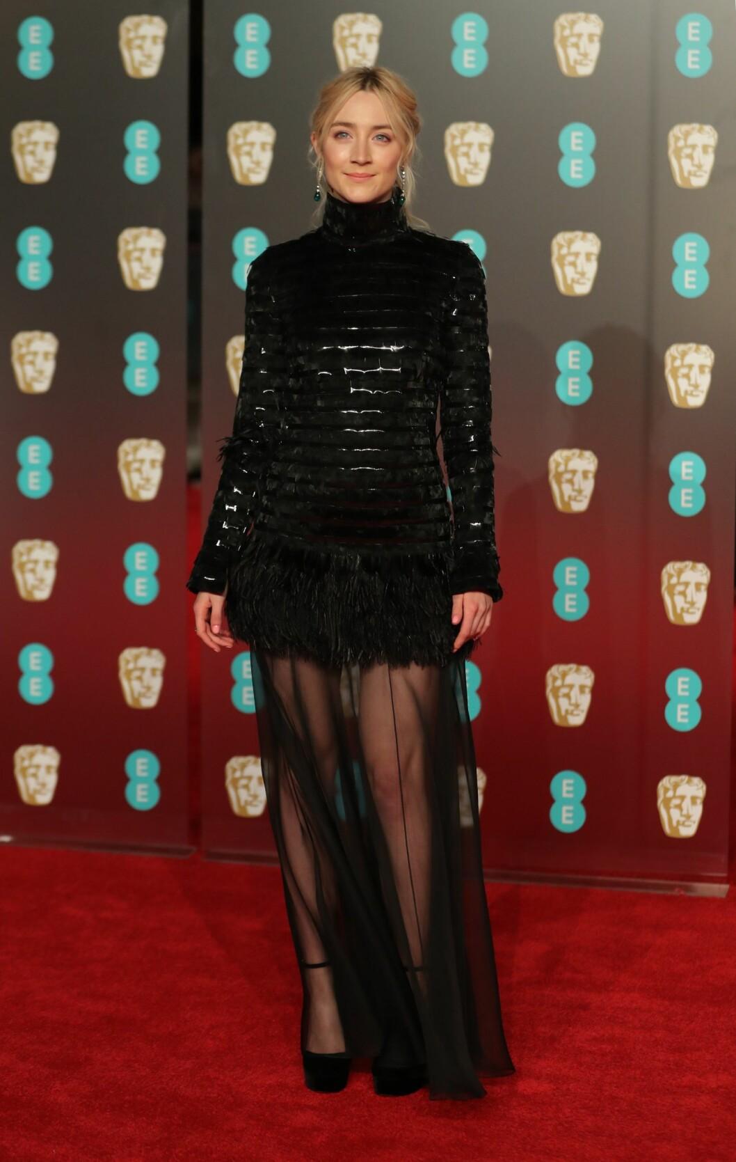 <strong>BAFTA:</strong> Saoirse Ronan. Foto: NTB Scanpix