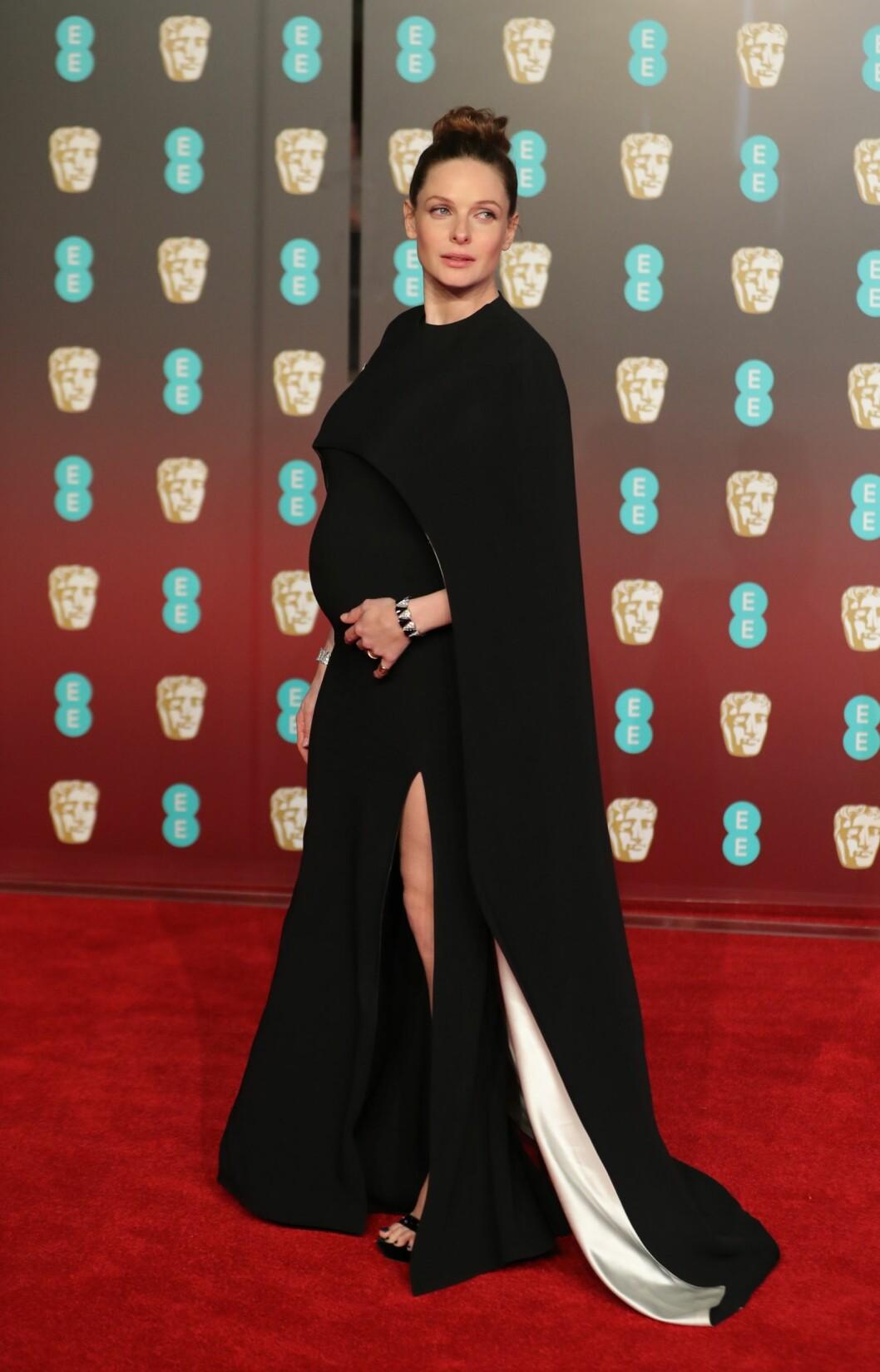 <strong>BAFTA:</strong> Rebecca Ferguson. Foto: NTB Scanpix