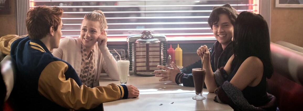 """RIVERDALE: Kafeen """"Pop's diner"""" fra «Riverdale» finnes på ekte. FOTO: skjermdump «Riverdale»"""