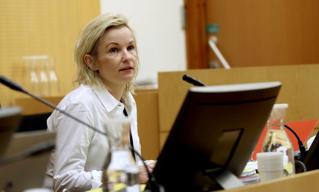 ANMELDELSE: Førstestatsadvokat Trude Stanghelle, sier at bakgrunnen for aksjonen var en anmeldelse fra Finanstilsynet.  Foto: Vidar Ruud / NTB scanpix