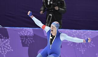 image: Lorentzen tok Norges første OL-gull i skøyter på 20 år