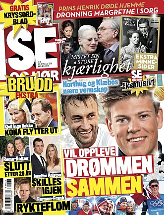 I SALG NÅ: Les mer i tirsdagens utgave av Se og Hør.