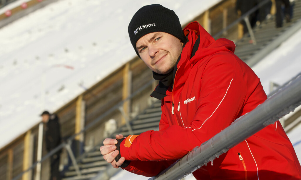 IMPONERT: Anders Jacobsen var med å ta OL-bronse i 2010. Han hyller de ferske gullgutta som tok tidenes første laggull i OL. Foto: NTB scanpix/Poppe, Cornelius
