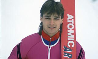 BRONSEVINNER: Ole Christian Eidhammer fotografert i 1989. Foto. Ivar Thoresen / Scanpix